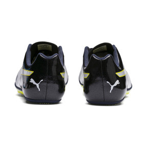 Thumbnail 3 of evoSPEED Sprint 9 Running Shoes, Black-Blazing Yellow-White, medium