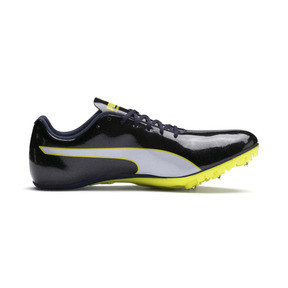Thumbnail 5 of evoSPEED Sprint 9 Running Shoes, Black-Blazing Yellow-White, medium