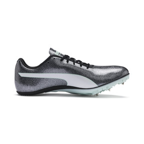 Thumbnail 5 of evoSPEED Sprint 9 Women's Running Shoes, Steel Gray-Fair Aqua-White, medium
