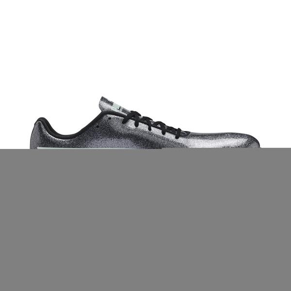 evoSPEED Sprint 9 Women's Track Spikes, Steel Gray-Fair Aqua-White, large