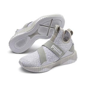 Thumbnail 2 of Defy Mid Animal Women's Training Shoes, Gray Violet-Puma White, medium