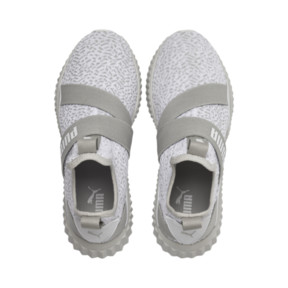 Thumbnail 6 of Defy Mid Animal Women's Training Shoes, Gray Violet-Puma White, medium
