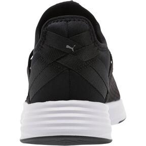 Thumbnail 3 of Radiate XT Slip-On Women's Sneakers, Puma Black-Puma Silver, medium