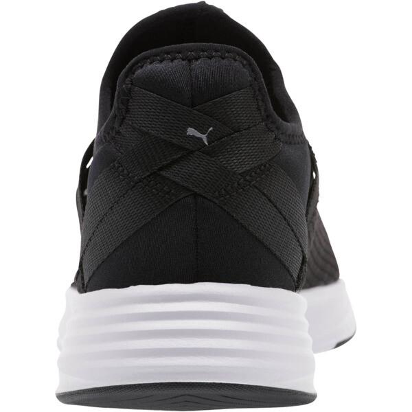 Radiate XT Slip-On Women's Sneakers, Puma Black-Puma Silver, large