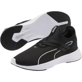 Thumbnail 2 of Radiate XT Slip-On Women's Sneakers, Puma Black-Puma Silver, medium