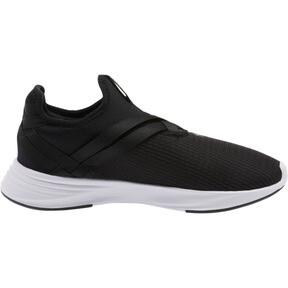 Thumbnail 4 of Radiate XT Slip-On Women's Sneakers, Puma Black-Puma Silver, medium