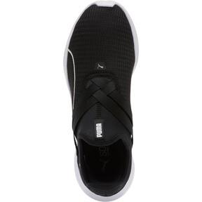 Thumbnail 5 of Radiate XT Slip-On Women's Sneakers, Puma Black-Puma Silver, medium
