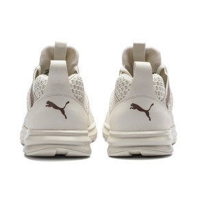 Thumbnail 3 of Enzo Knit Women's Trainers, Whisper White-Wht-Rose Gold, medium