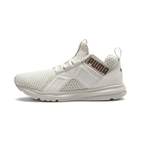Thumbnail 1 of Enzo Knit Women's Trainers, Whisper White-Wht-Rose Gold, medium