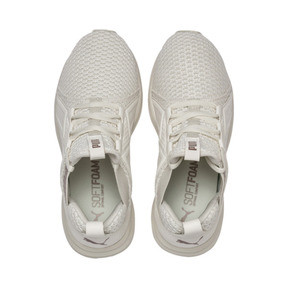 Thumbnail 6 of Enzo Knit Women's Trainers, Whisper White-Wht-Rose Gold, medium