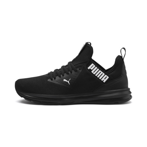Enzo Beta Men's Trainers, Puma Black-Puma Black, large