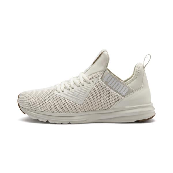 Enzo Beta Woven Men's Running Shoes, Whisper White, large