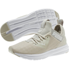 Thumbnail 2 of Enzo Beta Breathe Women's Training Shoes, Silver Gray-Puma White, medium
