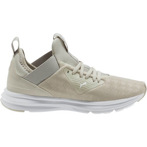 Thumbnail 4 of Enzo Beta Breathe Women's Training Shoes, Silver Gray-Puma White, medium