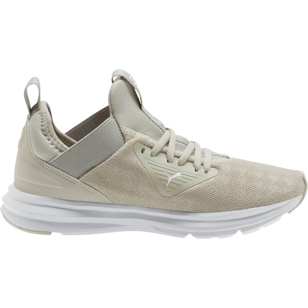 Enzo Beta Breathe Women's Training Shoes, Silver Gray-Puma White, large