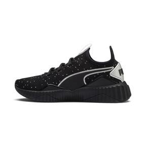 Thumbnail 1 of Defy Speckle Women's Training Shoes, Puma Black-Puma Silver, medium