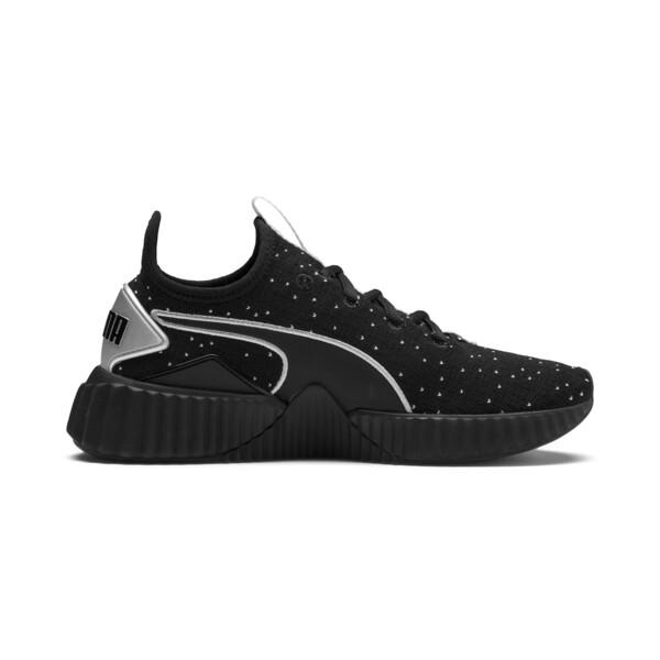 Defy Speckle Women's Training Shoes, Puma Black-Puma Silver, large