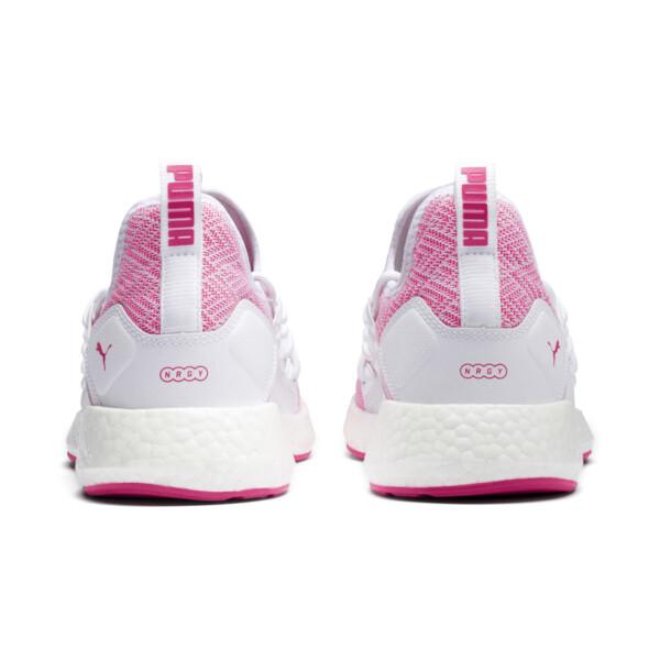 NRGY Neko Stellar Women's Running Shoes, Puma White-Fuchsia Purple, large