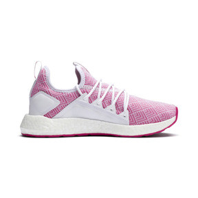 Thumbnail 5 of NRGY Neko Stellar Women's Running Shoes, Puma White-Fuchsia Purple, medium