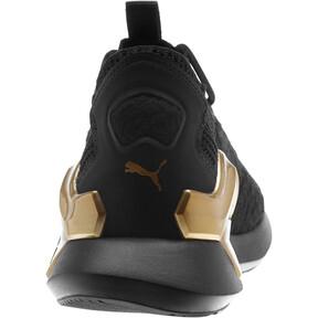 Thumbnail 3 of Rogue Metallic Women's Running Shoes, Puma Black-Metallic Gold, medium