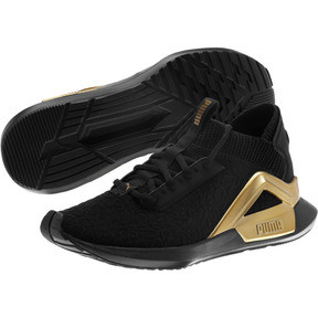 Thumbnail 2 of Rogue Metallic Women's Running Shoes, Puma Black-Metallic Gold, medium