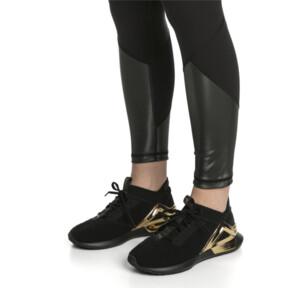 Thumbnail 6 of Rogue Metallic Women's Running Shoes, Puma Black-Metallic Gold, medium