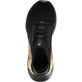 Thumbnail 5 of Rogue Metallic Women's Running Shoes, Puma Black-Metallic Gold, medium