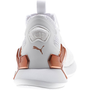 Thumbnail 3 of Rogue Metallic Women's Running Shoes, Puma White-Rose Gold, medium