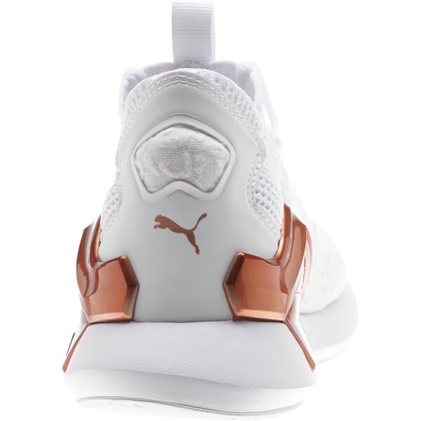 Rogue Metallic Women's Running Shoes, Puma White-Rose Gold, large