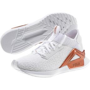 Thumbnail 2 of Rogue Metallic Women's Running Shoes, Puma White-Rose Gold, medium