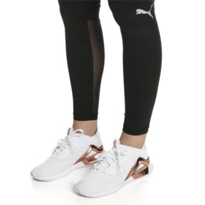 Thumbnail 6 of Rogue Metallic Women's Running Shoes, Puma White-Rose Gold, medium