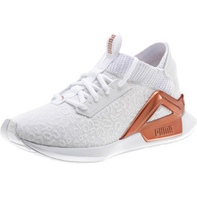 Thumbnail 1 of Rogue Metallic Women's Running Shoes, Puma White-Rose Gold, medium