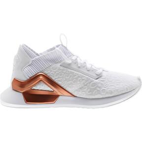 Thumbnail 4 of Rogue Metallic Women's Running Shoes, Puma White-Rose Gold, medium