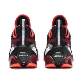 Imagen en miniatura 4 de Zapatos de hombre LQDCELL Origin Tech, Puma Black-Rhubarb, mediana