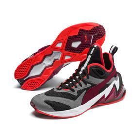 Imagen en miniatura 3 de Zapatos de hombre LQDCELL Origin Tech, Puma Black-Rhubarb, mediana