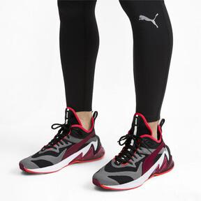 Imagen en miniatura 2 de Zapatos de hombre LQDCELL Origin Tech, Puma Black-Rhubarb, mediana