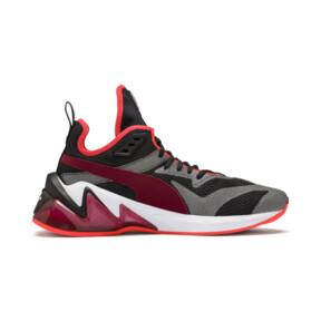 Imagen en miniatura 6 de Zapatos de hombre LQDCELL Origin Tech, Puma Black-Rhubarb, mediana