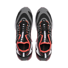 Imagen en miniatura 7 de Zapatos de hombre LQDCELL Origin Tech, Puma Black-Rhubarb, mediana