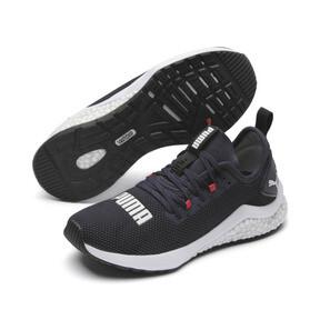 Thumbnail 2 of HYBRID NX Running Shoes JR, Peacoat-High Risk Red-White, medium
