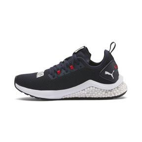 Thumbnail 1 of HYBRID NX Running Shoes JR, Peacoat-High Risk Red-White, medium