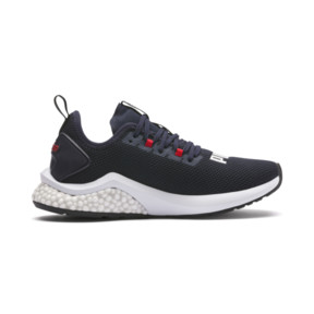 Thumbnail 5 of HYBRID NX Running Shoes JR, Peacoat-High Risk Red-White, medium