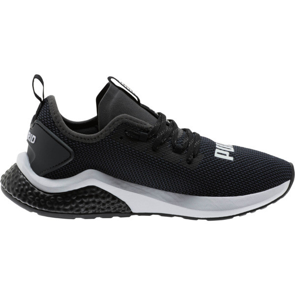 HYBRID NX Running Shoes JR, Puma Black-Puma White, large