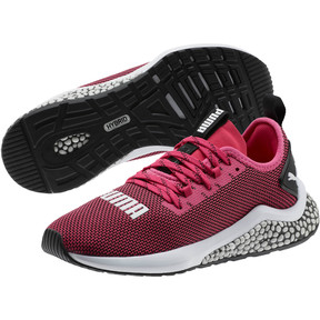 Miniatura 2 de Zapatos para correr HYBRID NX JR, Fuchsia Purple-White-Black, mediano