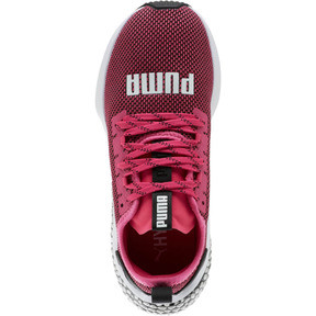 Miniatura 5 de Zapatos para correr HYBRID NX JR, Fuchsia Purple-White-Black, mediano
