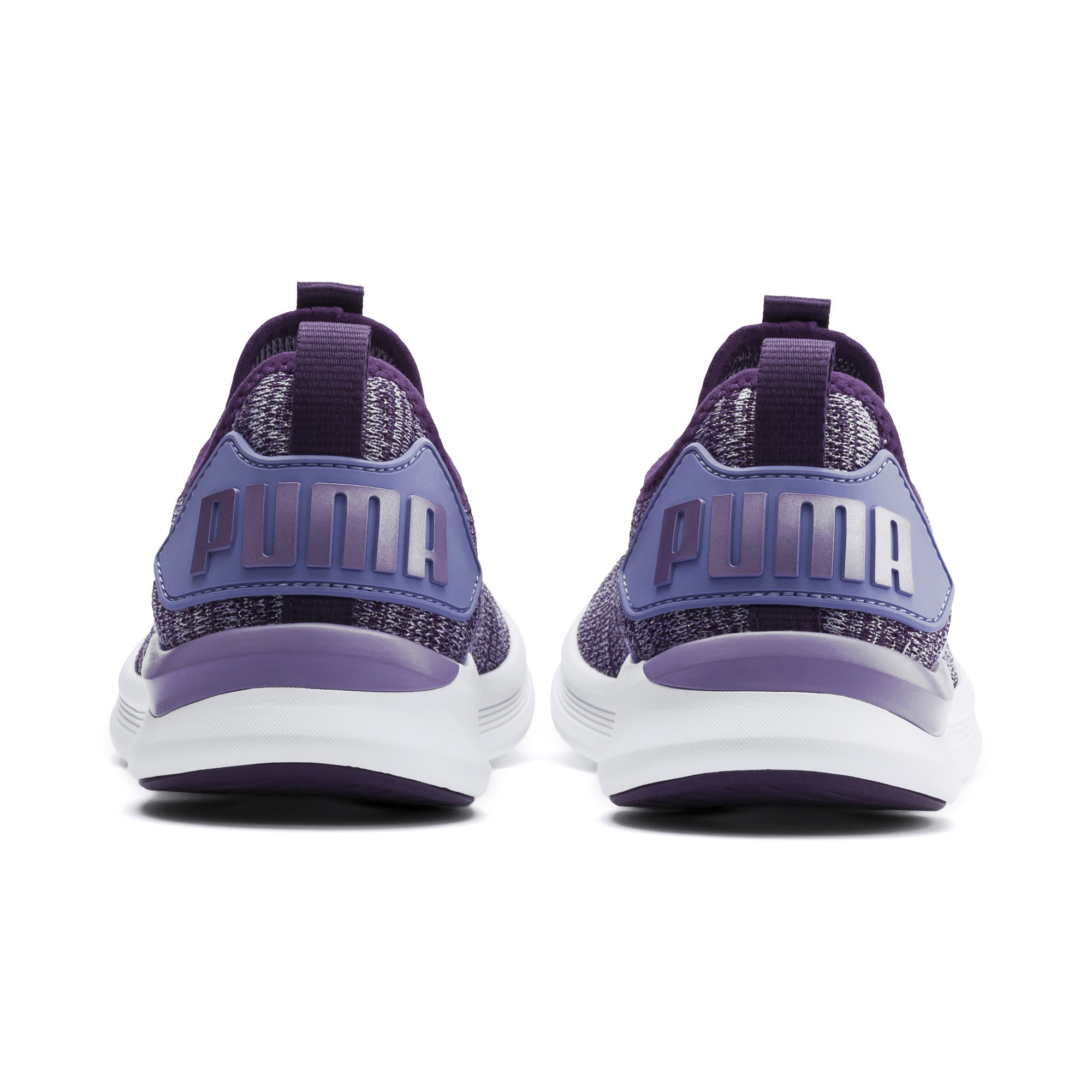 Image Puma IGNITE Flash evoKNIT Metallic Girls' Sneakers #3
