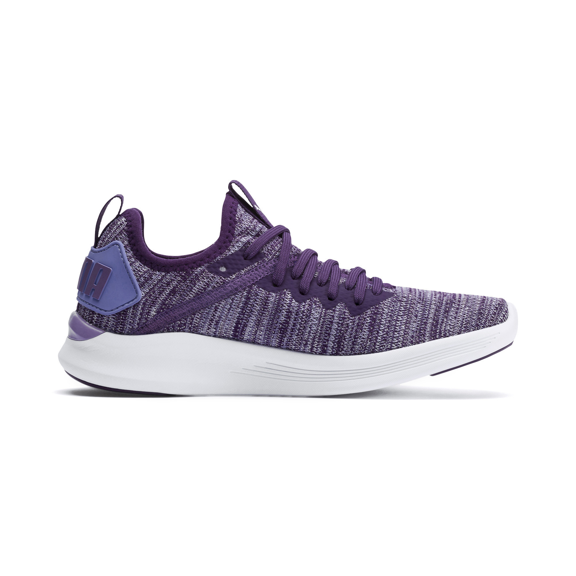 Image Puma IGNITE Flash evoKNIT Metallic Girls' Sneakers #5