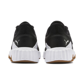 Miniaturka 3 Damskie buty treningowe Defy szyte, Puma Black-Puma White, średnie