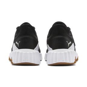 Thumbnail 3 of Defy Stitched Women's Training Shoes, Puma Black-Puma White, medium