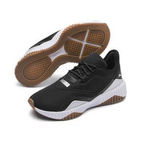 Thumbnail 2 of Defy Stitched Women's Training Shoes, Puma Black-Puma White, medium