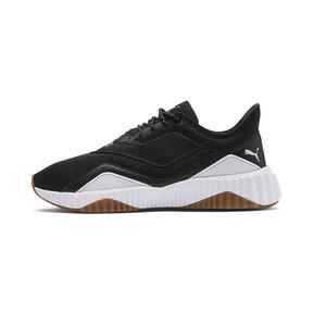 Miniaturka 1 Damskie buty treningowe Defy szyte, Puma Black-Puma White, średnie